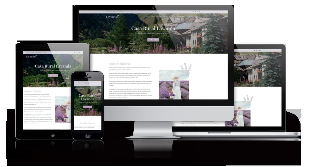 Diseño de Página Web para Alojamiento Rural
